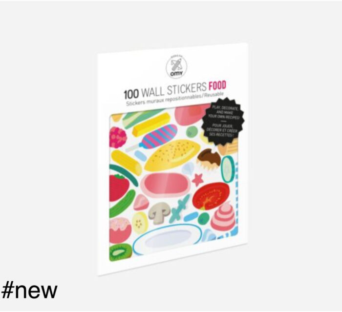 food omy stickers 100