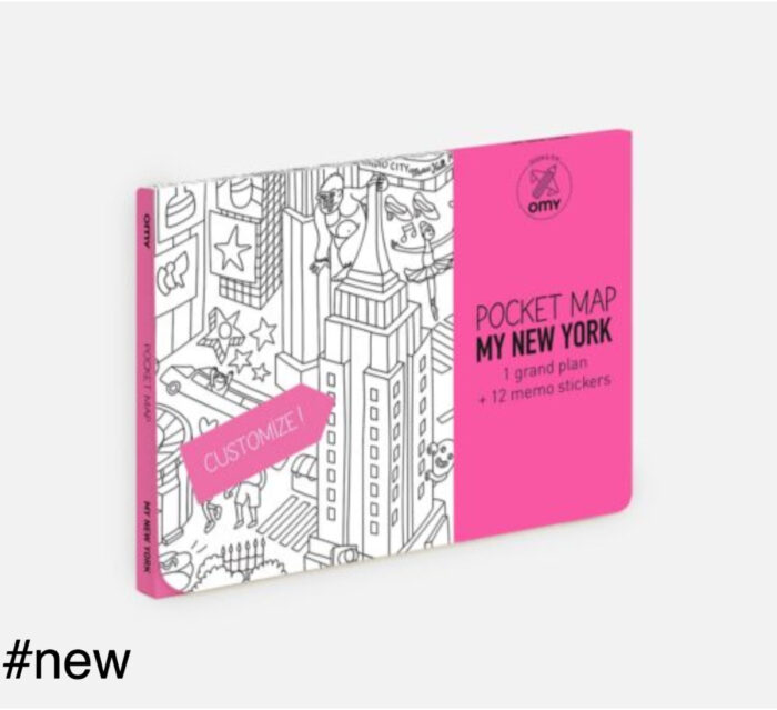 new york omy maps pocket coloring