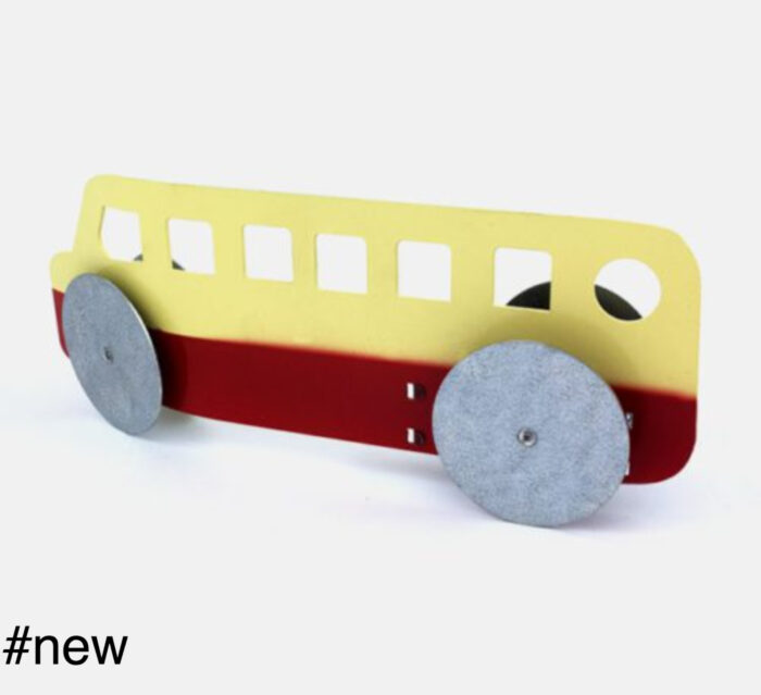 bus retro metal cars handmade
