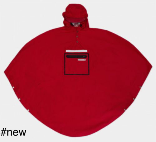 red poncho lightweight