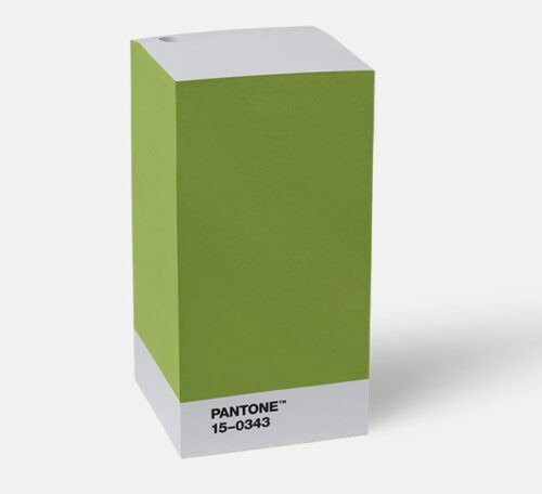 note pad green pantone