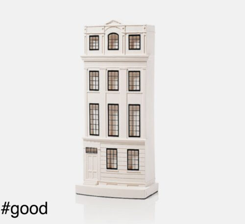 regency town house plaster model