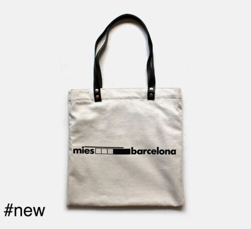 reversible tote bag mies van der rohe barcelona design architect