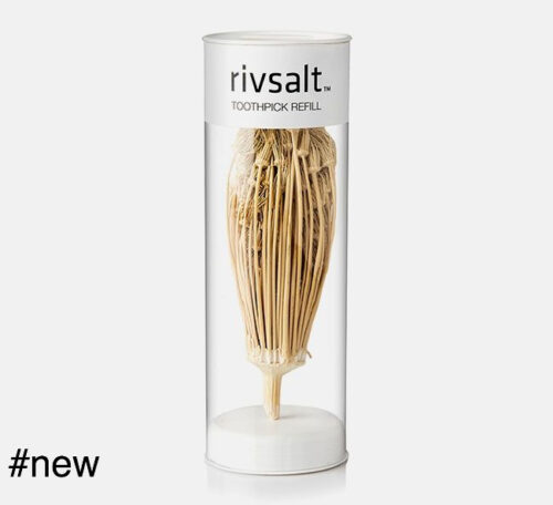 toothpick refill natural organic toothpick toothbrush toothcleaner rivsalt