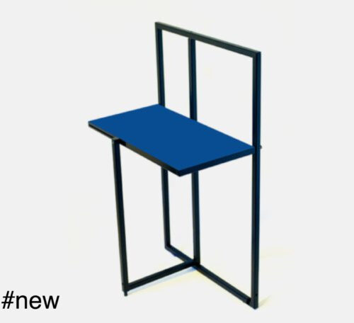 BEAMALEVICH Piet De Stijl folding side coffee table - Blue