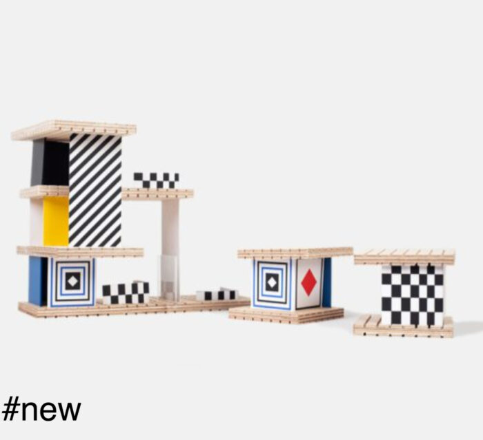 BEAMALEVICH HOUSE Victor Vasarely building set - TRIO version