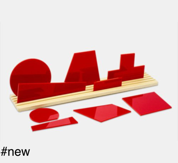 red suprematism malevich toy diorama