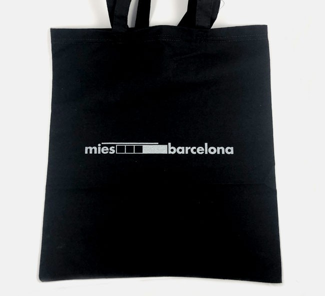 Tote bag less is more