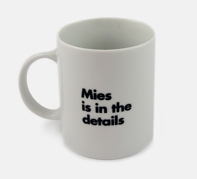 Mies Mugs 3-Pack