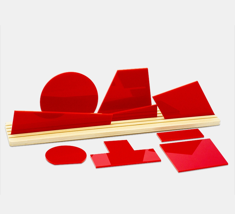 Shapes of SUPREMATISM Red