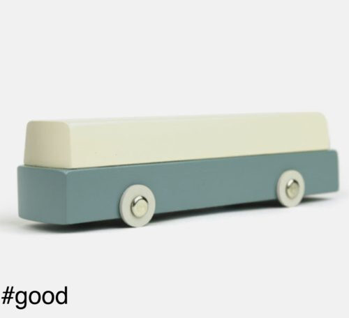 duotone toy bus vehicle children scale