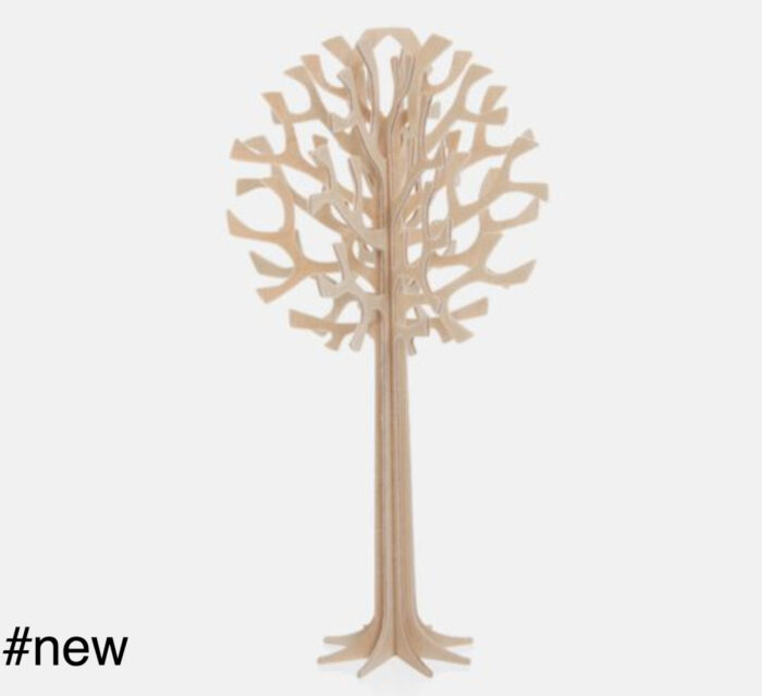 tree 16 cm wooden toy figure lovi natural wood