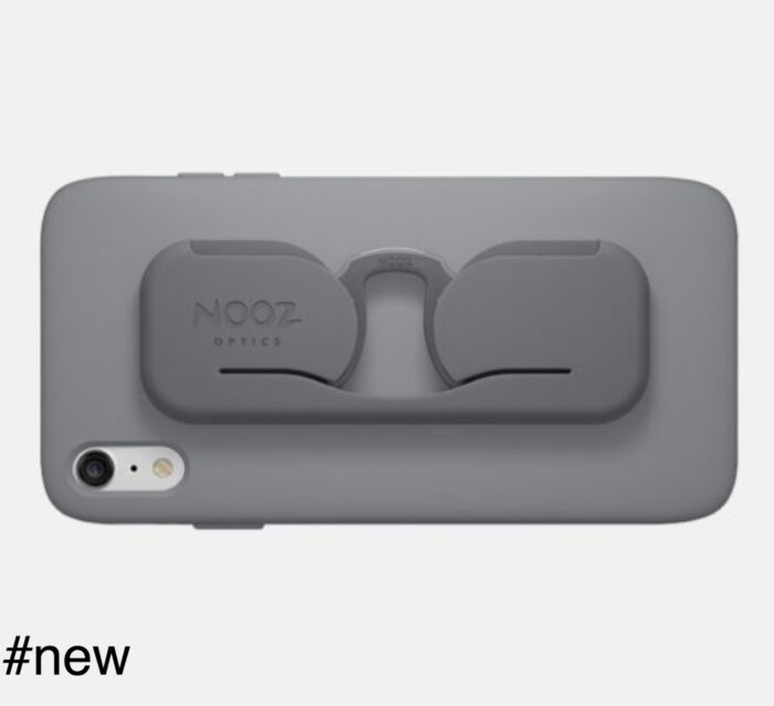 nooz optics smartphone case eyeglasses grey