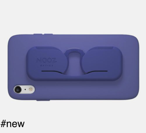 nooz optics smartphone case eyeglasses blue