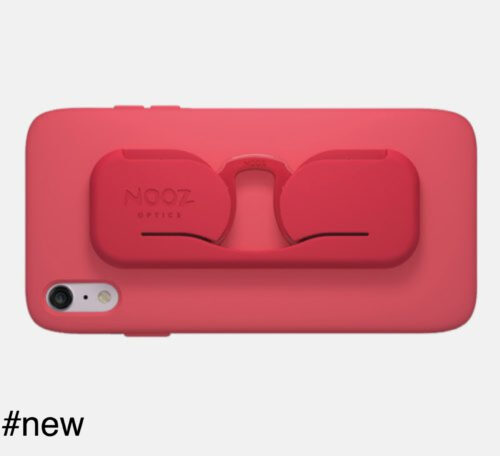 nooz optics smartphone case eyeglasses red