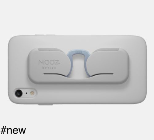 nooz optics smartphone case eyeglasses silver