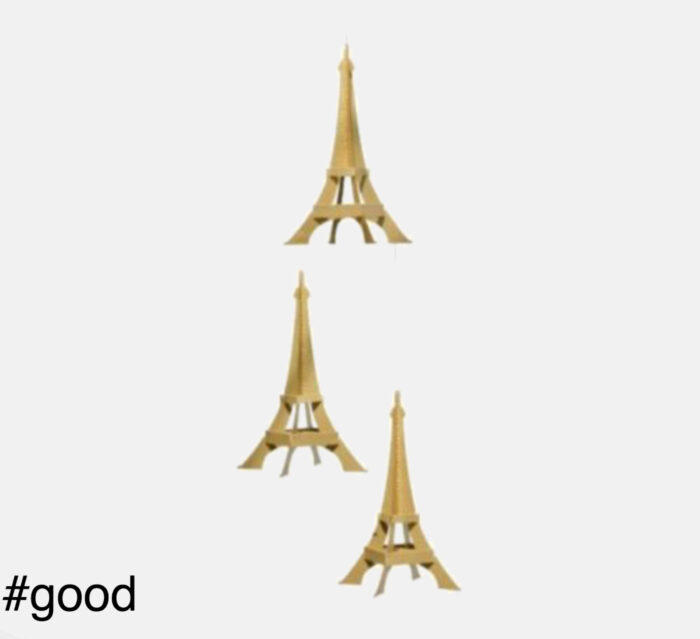 eiffel tower livingly mobile gold