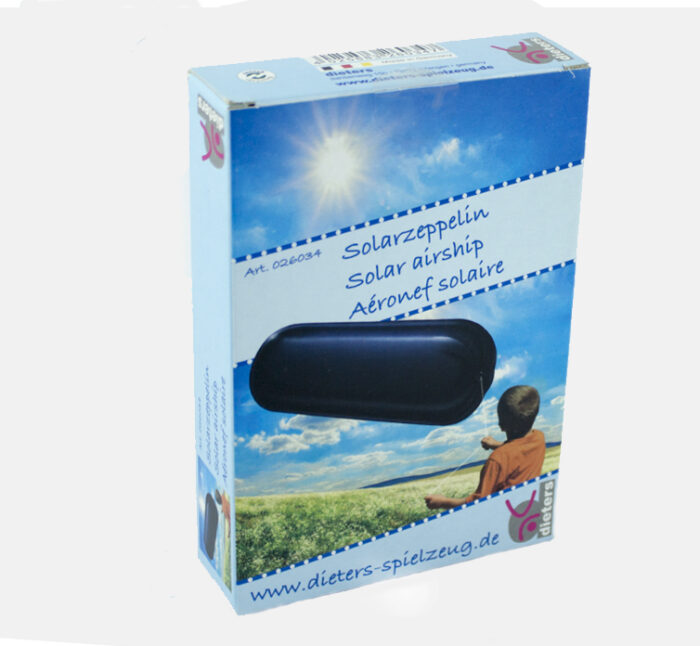 DIETERS SPIELZEUG DIY Solar Airship and toy Zeppelin - Experiment with solar energy