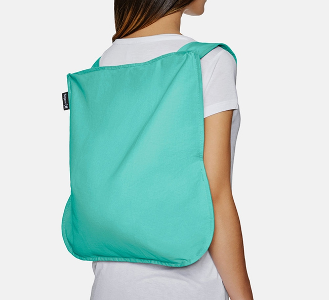 Convertible Tote bag & backpack – Mint