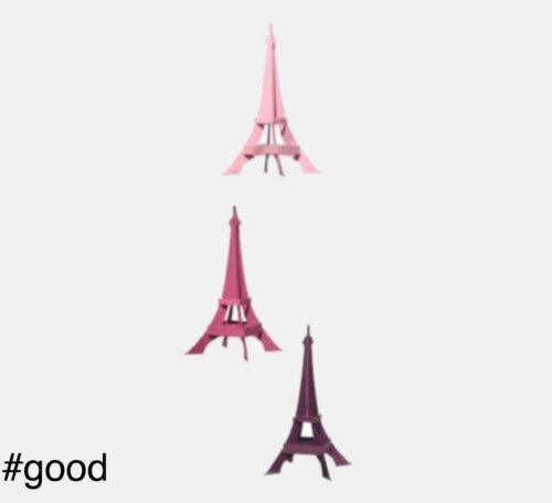 eiffel tower livingly mobile pink