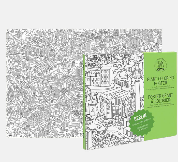 OMY Berlin - City Coloring Poster