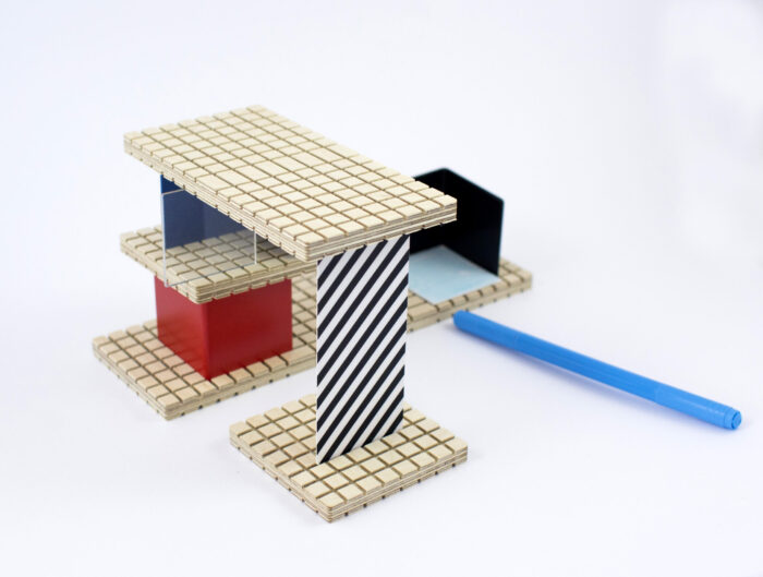 HOUSE Victor Vasarely building set - TRIO version