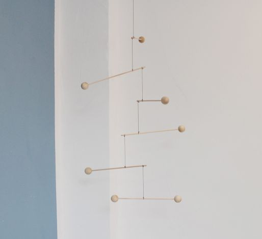 Scala Hanging Mobile art – Wooden mobile