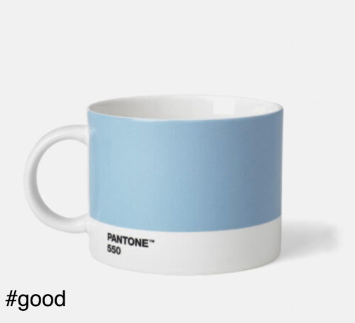 large tea cup pantone light blue