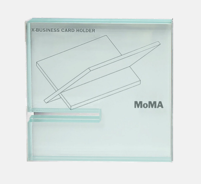 MoMA NY X-Business Card holder - by Page Goolrick