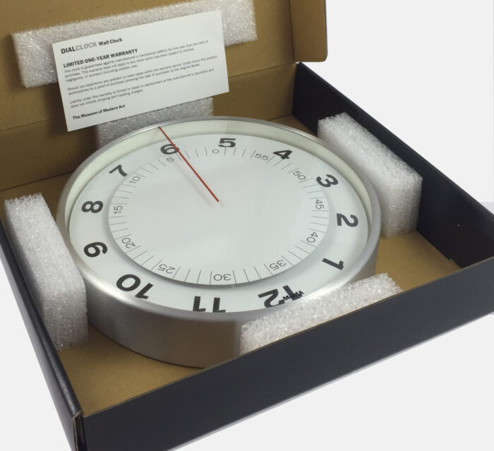 MoMA Dial Clock - by Eric Janssen