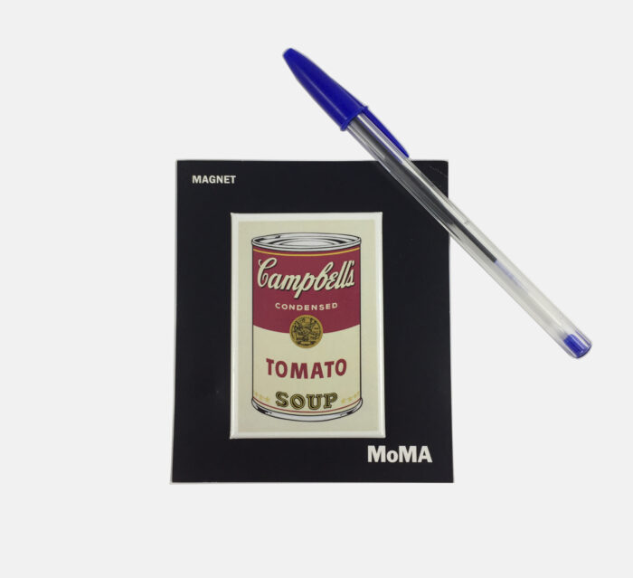 MoMA Andy Warhol Magnet – Campbell's Soup