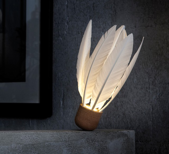 ATELIER D'EXERCICES Lampe volant - Shuttlecock Lamp