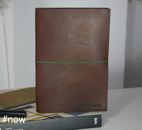 chestnut large less but better mies van der rohe notebook
