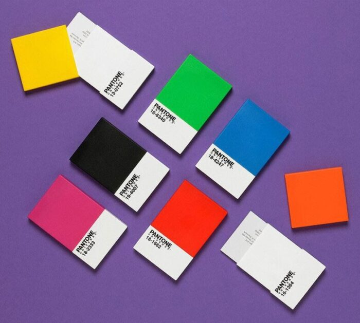 pantone card holders open
