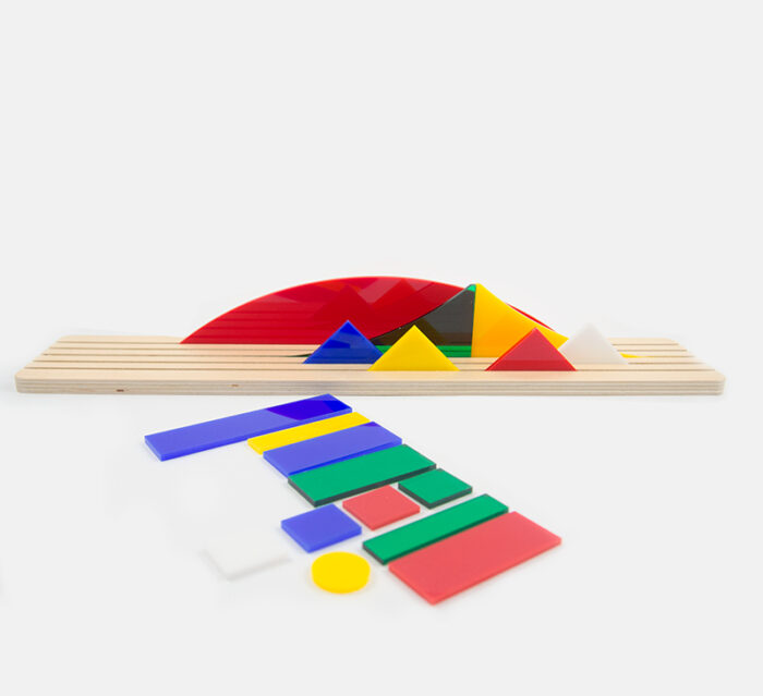BEAMALEVICH Shapes of Bauhaus - Diorama toy inspired in Alma Siedhoff-Busher