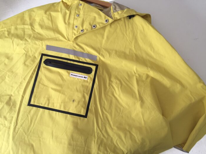 the people's poncho yellow adult body
