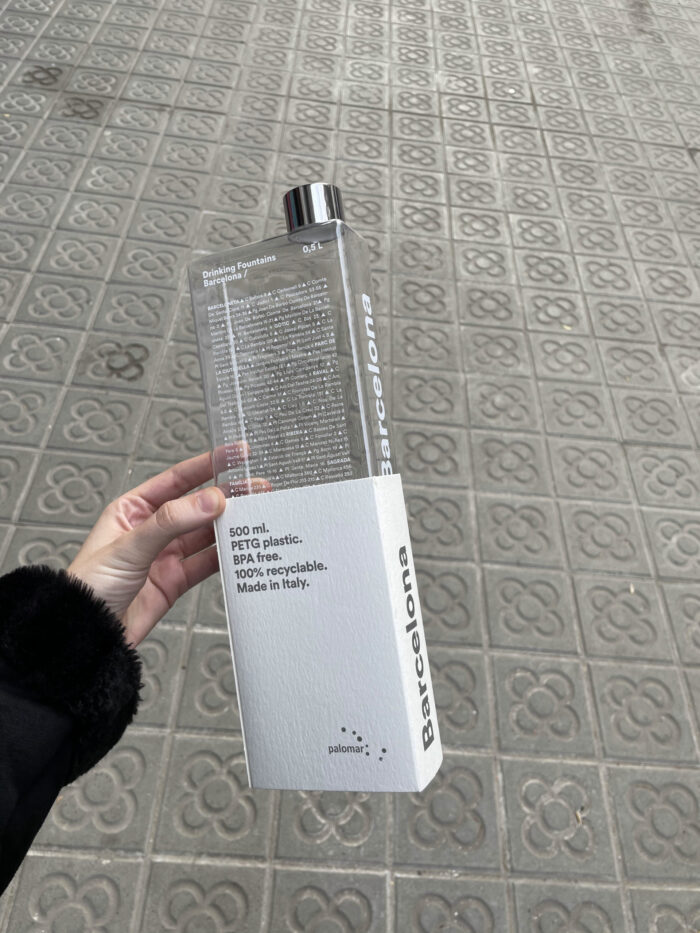 PALOMAR Phil The Bottle 500 ml Plastic Fountain Finder - Anywhere