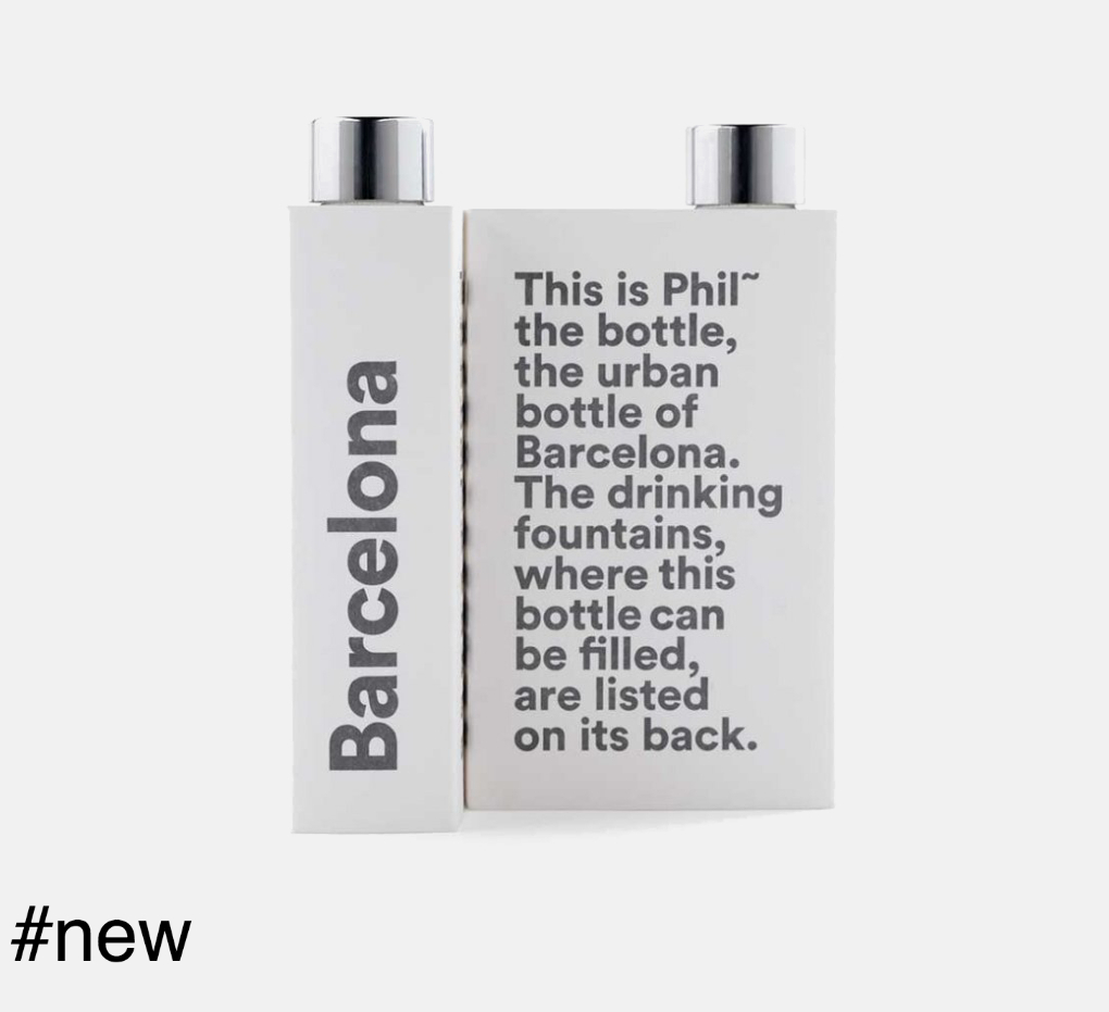 phil the bottle barcelona edition